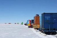 中国南极科考队内陆队抵达泰山站