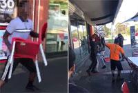 澳餐厅遭黑人青年抢劫 越南店主联手同乡勇敢回击