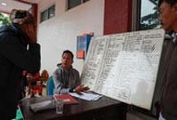 印尼海啸伤者在医院接受救治