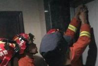 赞!温州两名小朋友被困电梯 上演教科书式自救