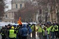 """法国""""黄背心""""示威第十周:8.4万人抗议 300人被捕"""
