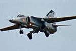 印度空军一架米格-27战斗机坠毁 没有人员伤亡