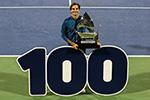 费德勒成就职业生涯100冠