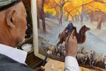60年来 他用1.5万幅画绘新疆