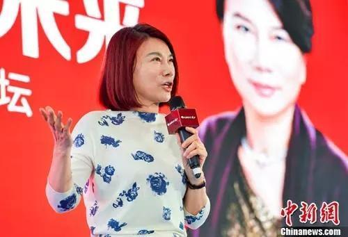 董明珠。<a target='_blank'  data-cke-saved-href='http://www.chinanews.com/' href='http://www.chinanews.com/'>中新社</a>记者骆云飞摄