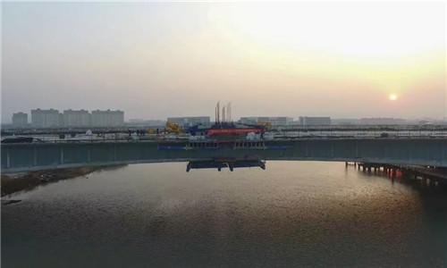 宁波又一跨江特大桥合龙!预计下半年试通车