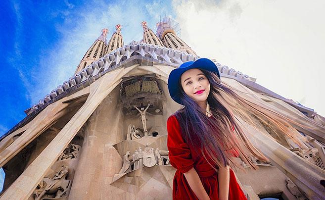 """走遍20国100城 跟着宁波""""果小姐""""环游世界"""