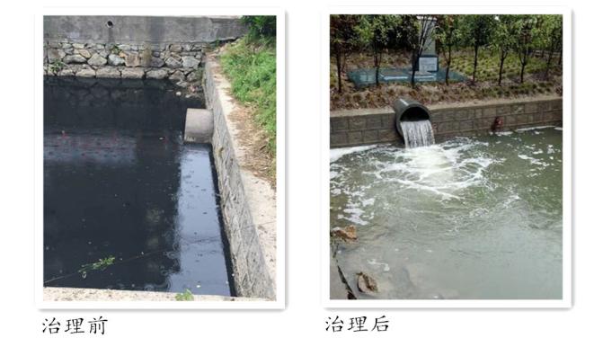 庵东镇引入智能排口系统助力污水零直排建设