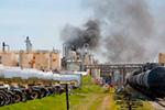 美国得州一化工厂发生火灾致一死三伤