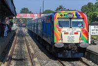 中企承建斯里兰卡南部铁路项目举行通车仪式