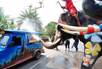 泰国:迎接宋干节