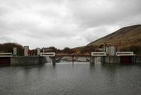 中哈苏木拜河联合引水工程改造竣工