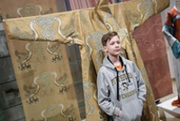 中国丝绸服装展在莫斯科开幕