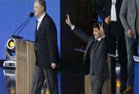 波罗申科承认败选 恭喜泽连斯基赢得乌克兰总统选举