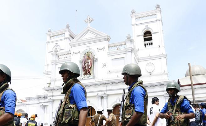 斯里兰卡首都科伦坡爆炸事件