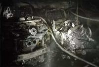 特斯拉在车库自燃 旁边数辆豪车都遭殃!类似事故已有50起