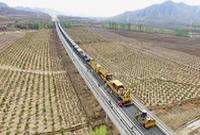 冬奥配套工程崇礼铁路铺轨里程过半