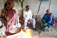 印度的街边茶摊