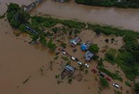 印尼西部洪水成灾