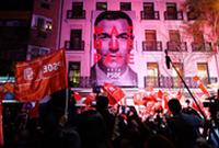 西班牙执政党工人社会党在议会选举中得票率第一