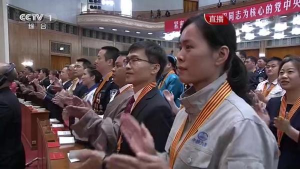 王立平北京领奖聆听总书记讲话 刚刚发来现场感言