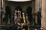巴黎圣母院火灾后内部曝光