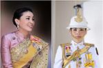 """泰国王室发布20张王后""""制服照"""":从空姐到将军再到王后"""