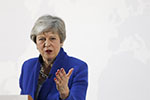 """特蕾莎・梅:英国议会将决定是否就""""脱欧""""条件举行公投"""