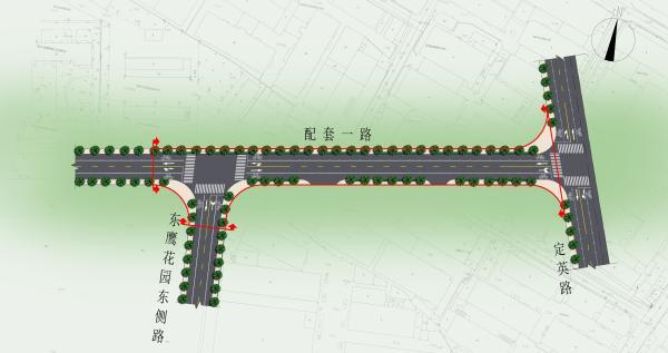 江北又一配套道路开工在即 将缓解江北中学周边交通压力