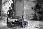"""以色列推出武装机器人:可扫荡""""致命死角""""弹无虚发"""
