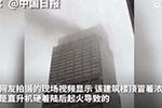 一架直升机在纽约曼哈顿高楼顶部迫降失败 已致1人死亡