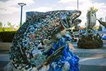 用塑料垃圾做领奖台 东京奥组委吁关注海洋塑料污染