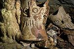 俄媒:考古学家在玛雅墓穴中发现了战利人类颅骨