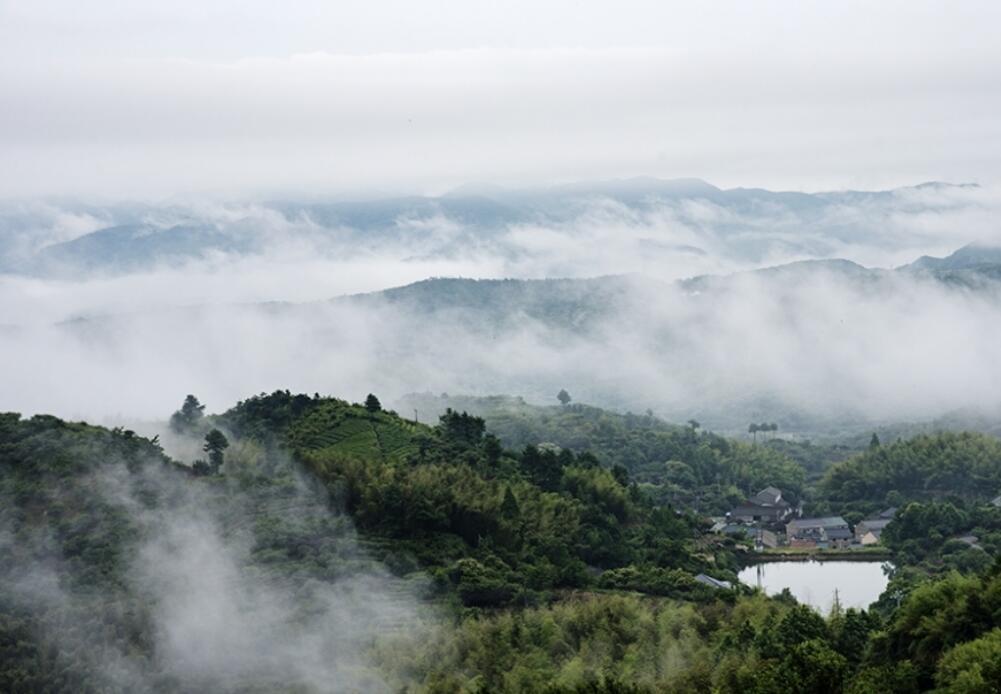 云雾四明山