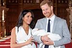 英国哈里王子喜迎父亲节 首度公开儿子正面萌照