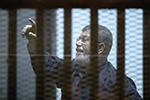 埃及前总统穆尔西庭审晕倒后去世 终年67岁
