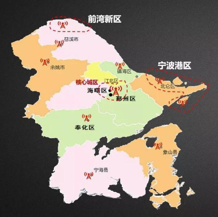 """宁波到底是不是""""首批5G城市""""?朋友圈一张热图看不懂了"""