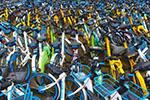 """废弃共享单车去哪了?4000辆小黄车在缅甸""""获新生"""""""