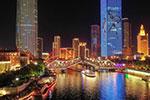 天津:万人观桥夜迷人