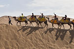 沙漠旅游迎来黄金季