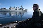 俄罗斯在黑海举行跨军种协作演习