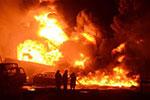 尼日利亚拉各斯发生输油管道爆炸起火事故