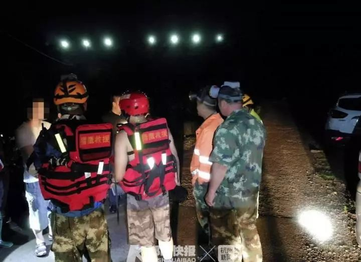 16名驴友在浙江仙居丽人谷遭遇山洪 2人遇难
