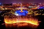 唐山南湖灯光水舞秀启幕