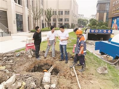 东郊柔性服务助推排水许可证办理