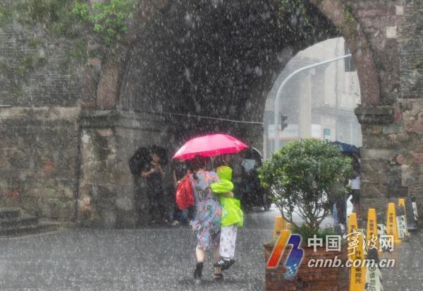 暴雨黄色预警!宁波将继续大雨倾盆