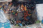 印度孟买一楼房坍塌至少2人死亡数十人被困