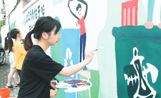 墙绘垃圾分类