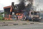 尼日利亚首都发生示威者与警察冲突造成1死1伤