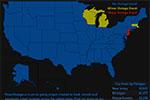 退出巴黎协定的美国正在遭遇极端气候打击 多州出现大停电